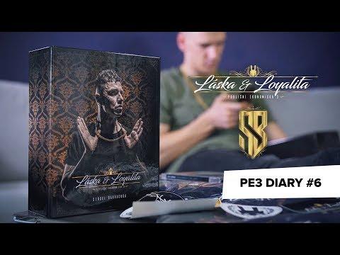 PE3 Diary #6 - jak vypadá album & merch? Natáčení klipu Love x Soud