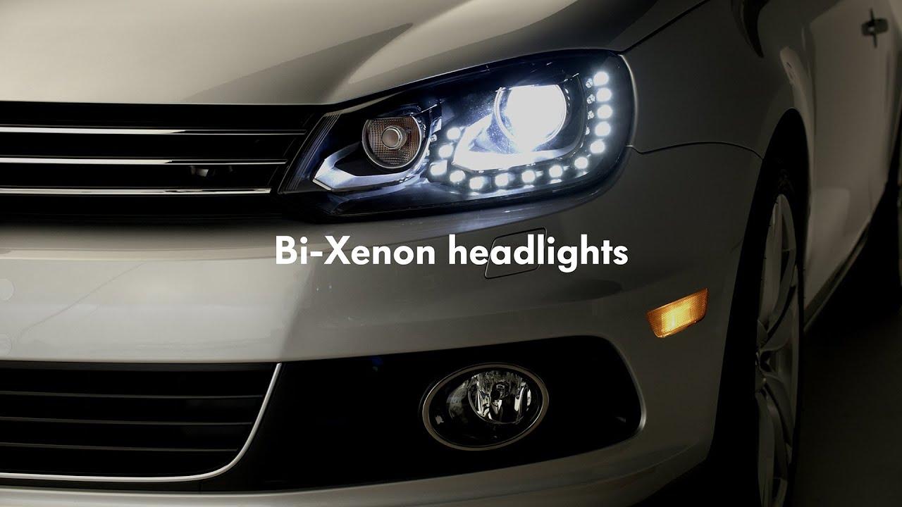 2015 Volkswagen Eos - Bi-Xenon headlights - YouTube