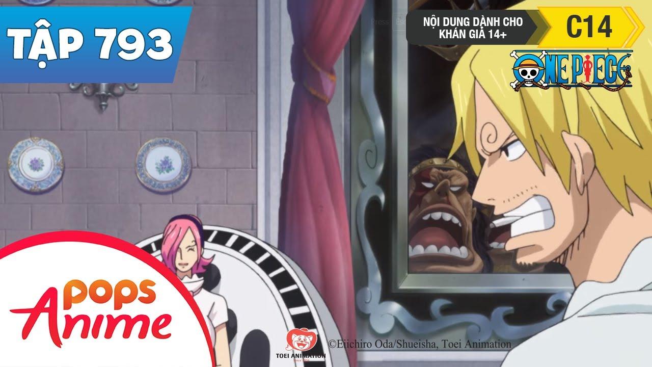 One Piece Tập 793 - Vương Quốc Di Động Trên Biển, Vua Của Germa - Judge - Đảo Hải Tặc