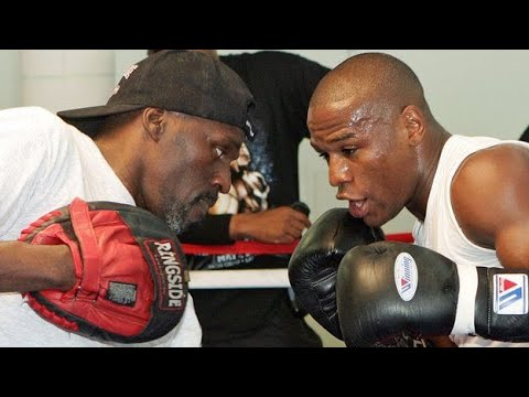 Roger and Floyd Mayweather jr - Hall of Fame