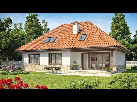 Проекты домов из пеноблоков и пенобетона