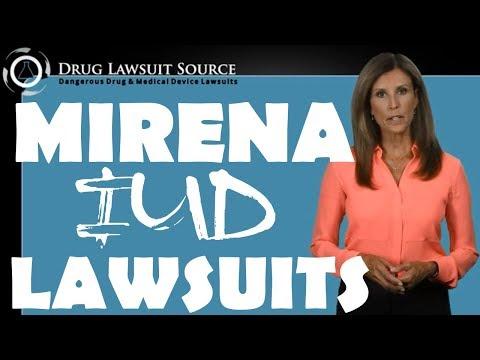 Mirena Iud Lawsuits Infertility Bleeding Ectopic Pregnancy