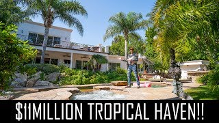 $11MILLION_TROPICAL_HAVEN_IN_BEVERLY_HILLS!!
