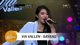 Video Via Vallen - Sayang - Live at Ini Talk Show download MP3, 3GP, MP4, WEBM, AVI, FLV Juli 2018