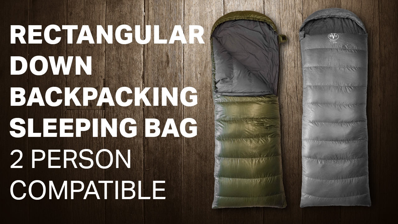 Rectangular Down Backng Sleeping Bag