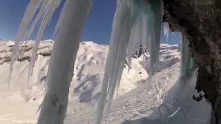 FREERIDE SKIING WITH MY BEST FRIEND GOPRO HD Thumbnail