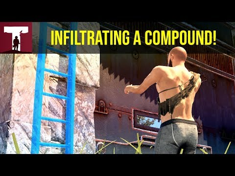 INFILTRATING A COMPOUND! (Rust) thumbnail