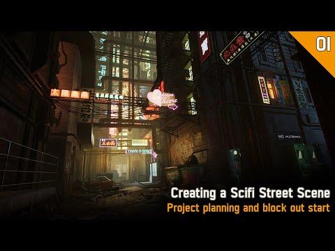 3D Environment Art Creation | Beyond Human | Full Process | Part 01