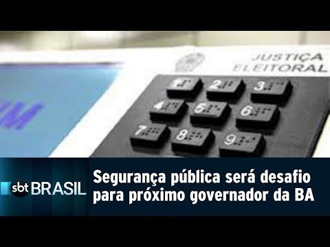 Segurança pública será o principal desafio para próximo governador da Bahia | SBT Brasil (05/09/18)