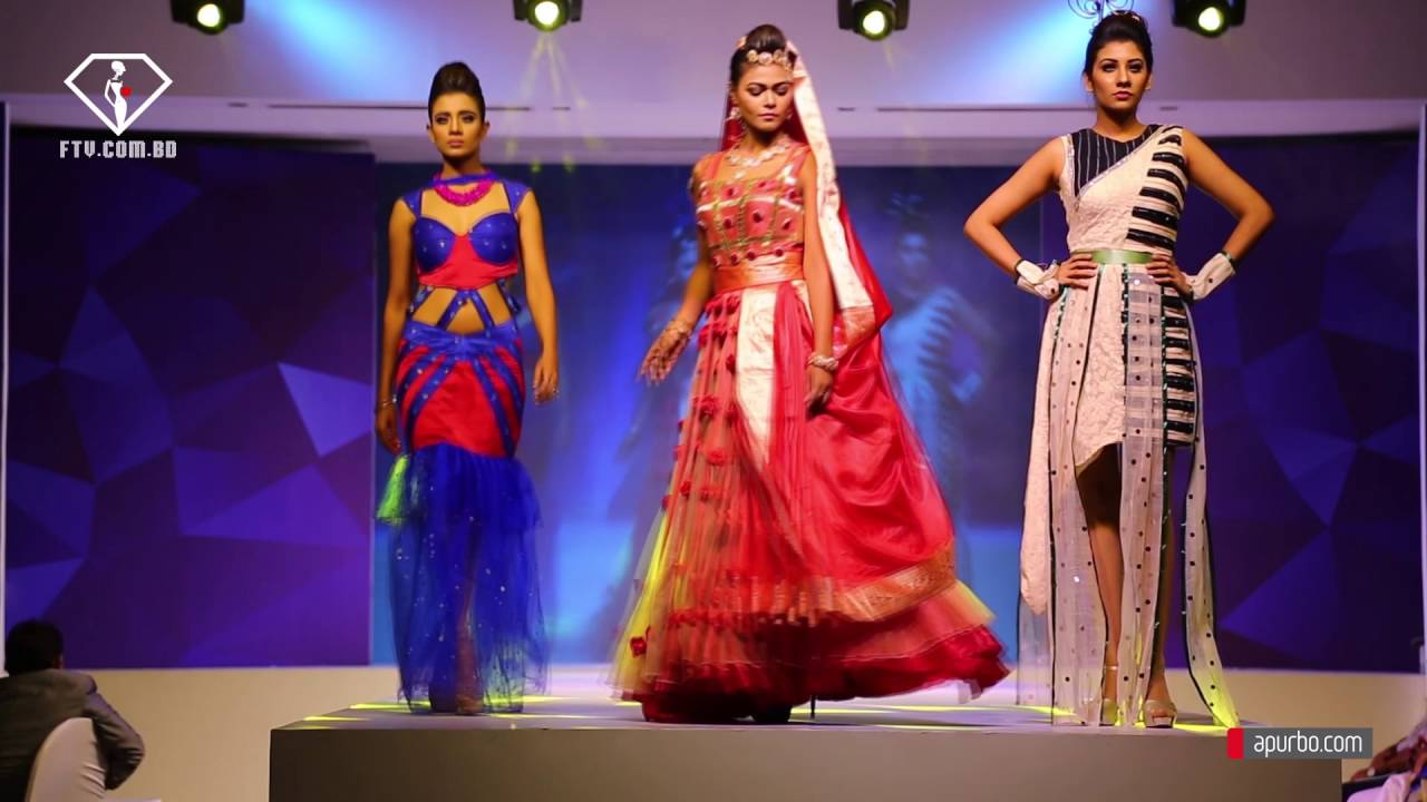 Shanto Mariam University Of Creative Technology Anul Fashion Show 2016 By Ftv Com Bd Youtube