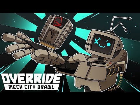 IT'S DANGEROUS TO GO ALONE; TAKE THIS! | Override: Mech City Brawl