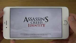 Assassins Creed Identity iPhone 6 Plus 4K Gameplay Review