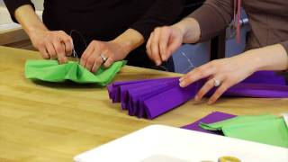 Do It Yourself Design - Tissue Poms
