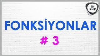 Fonksiyonlar 3 | Birebir Fonksiyon Çeşitleri | 10. Sınıf | #10sınıf