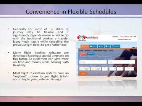 Axis Softech - Travel Agency Software for Online Flight Ticket Booking