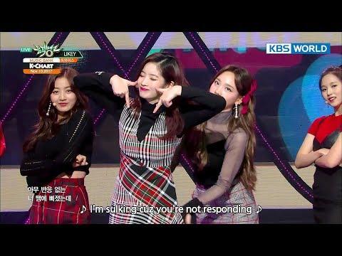 TWICE (트와이스) - LIKEY [Music Bank HOT Stage / 2017.11.10]