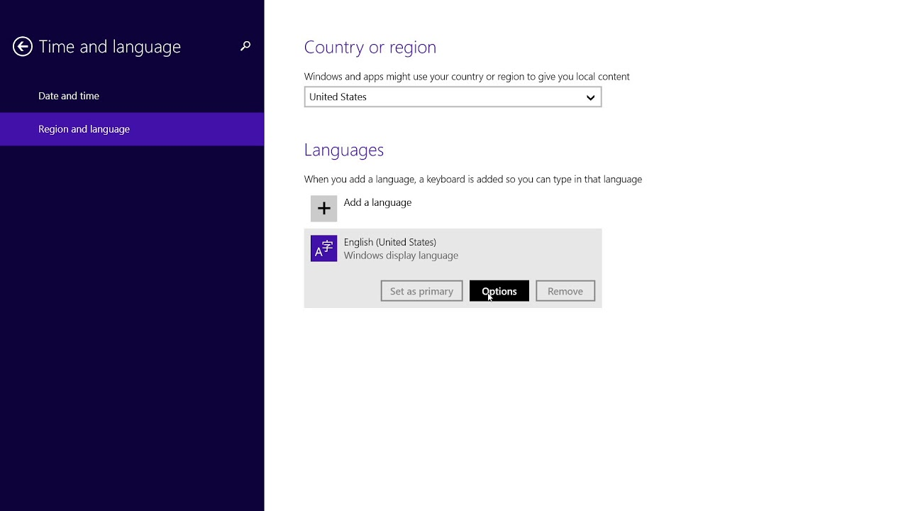 Windows 8 1 - How to Change the Keyboard Layout
