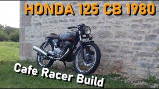 Transformation Honda CB 125 twin Cafe Racer
