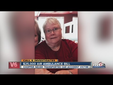 Woman dies before air ambulance arrives, still charged $25K