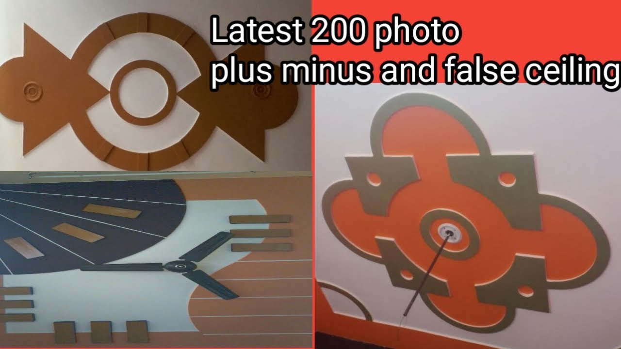 Latest P O P Design 200 Photo Plus Minus And False Ceiling Pop Design Youtube