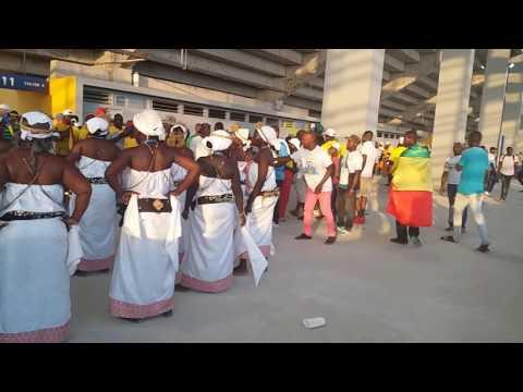 La Dance culturel du Gabon.
