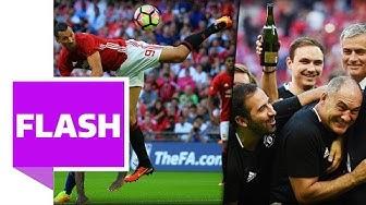 England-Supercup: Ibrahimovic ballert United und Mourinho zum 1. Titel