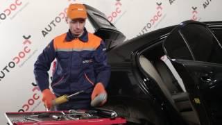 Skift Bagbrosbøsning VW EOS - videovejledning