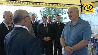 Рабочая поездка Александра Лукашенко по Гродненской области