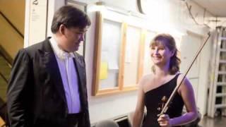 Lisa Batiashvili on working with Alan Gilbert