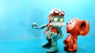 Clay Crazy Frog