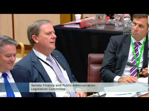 Senator Waters asks Future Fund Chair Peter Costello re: Divestment part 1