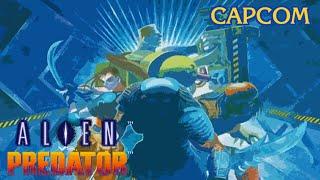 Alien vs Predator (Arcade/Capcom/1994 Warrior) [HD]