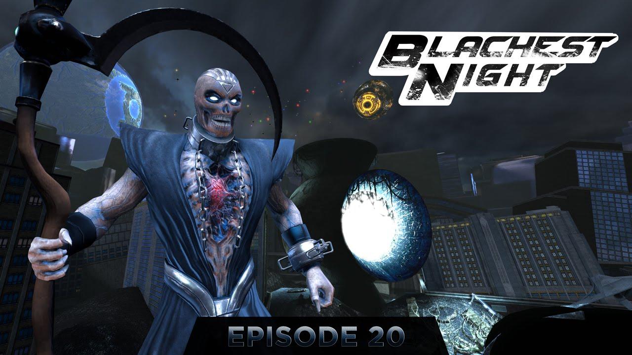 DCUO - Blackest Night Raid | Nekron Last Boss | Atomic ...