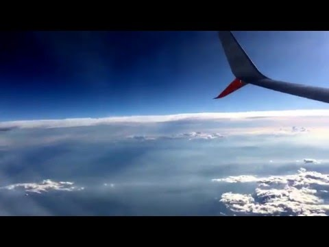 HD Timelapse - Flight from Mexico City to Guadalajara