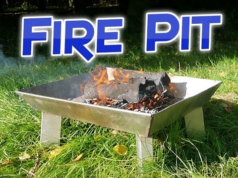 Making a Stainless Steel Fire Pit
