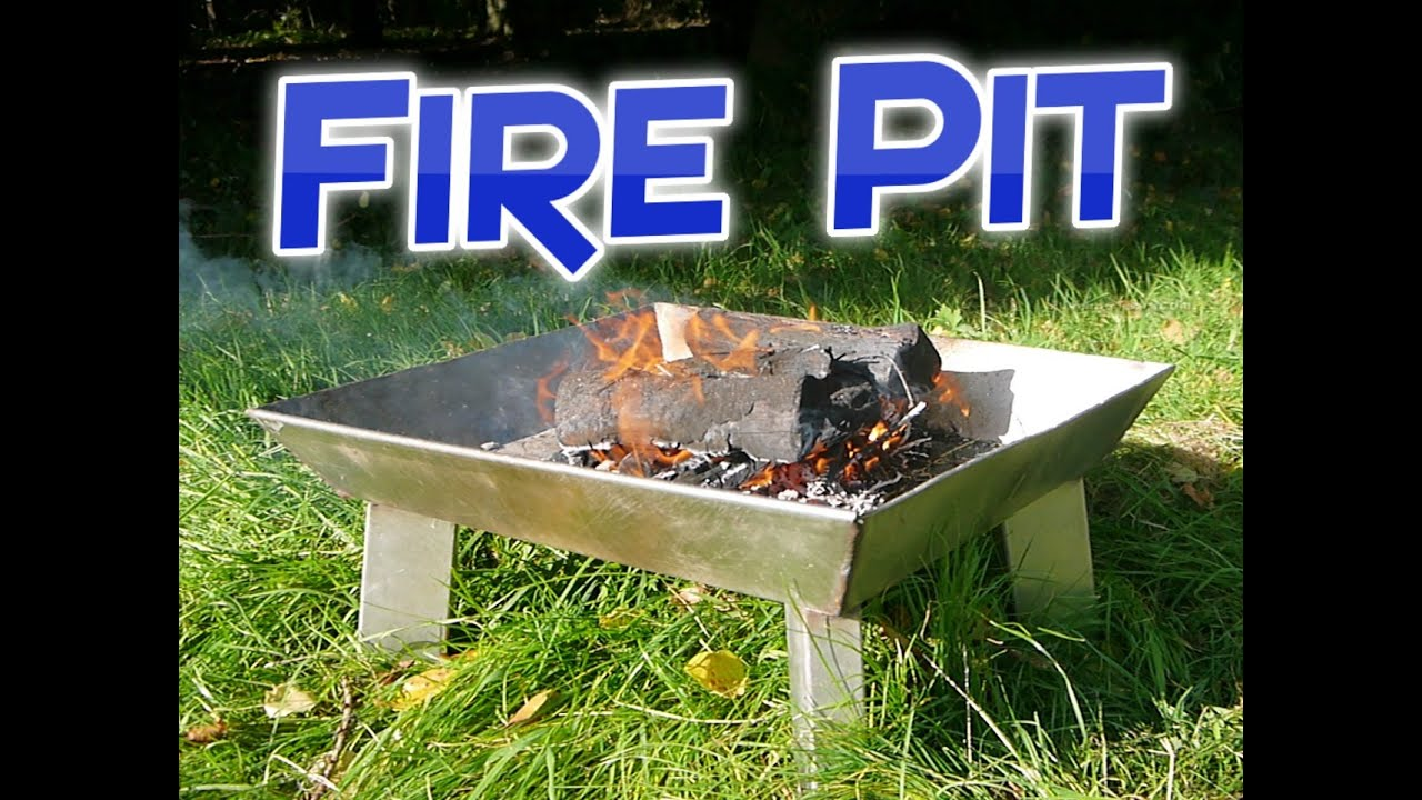 Making a Stainless Steel Fire Pit - YouTube