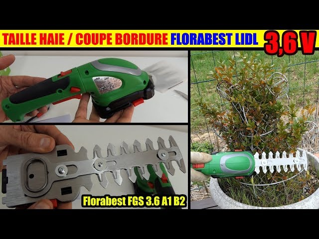 Batterie COUPE-BRANCHES SANS FIL FLORABEST PARKSIDE 12v FAAS 12 B2