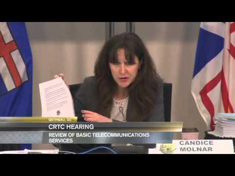 Chebucto Community Net CRTC Talk Broadband Testimony - Gatineau, PQ - 25 April 2016