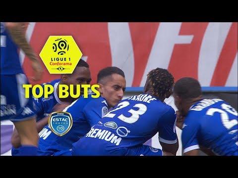 Top 3 buts ESTAC Troyes | saison 2017-18 | Ligue 1 Conforama