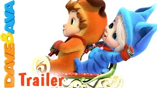 Ten Little Snowflakes - Trailer | Nursery Rhymes and Baby Songs from Dave and Ava