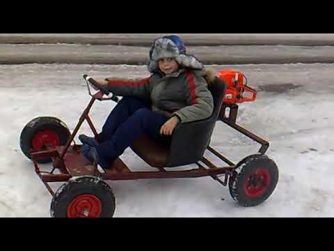 видео: багги из бензопилы
