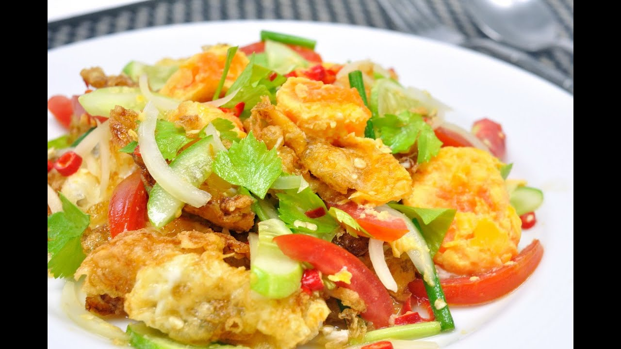 Image result for Yam ยำ Thai salad