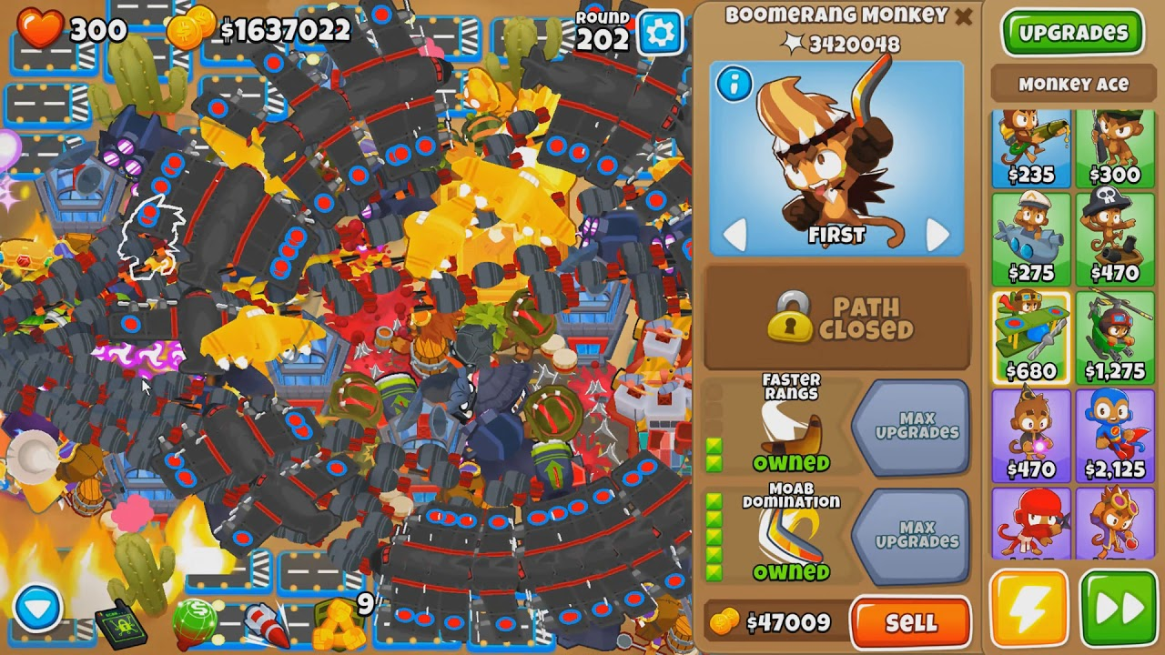 Ayumilove BTD6 Round 200+ Tower Setup Guide (Bloons Tower Defense 6)