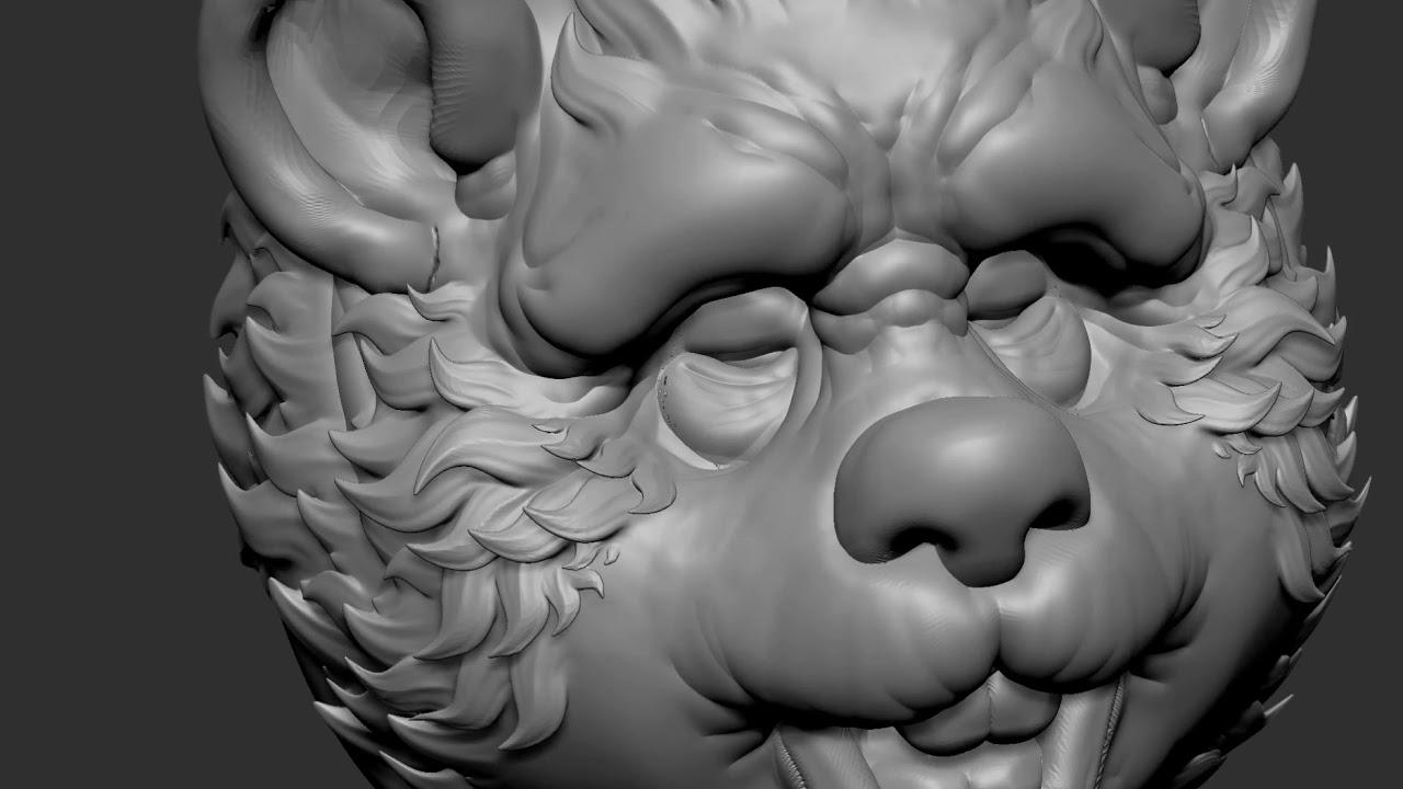 3D Stylized Fur VDM Brush