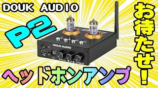 Douk Audio P2 真空管ヘッドホンアンプ OPENBOX編