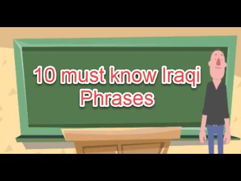 Top Ten important Iraqi Arabic Phrases