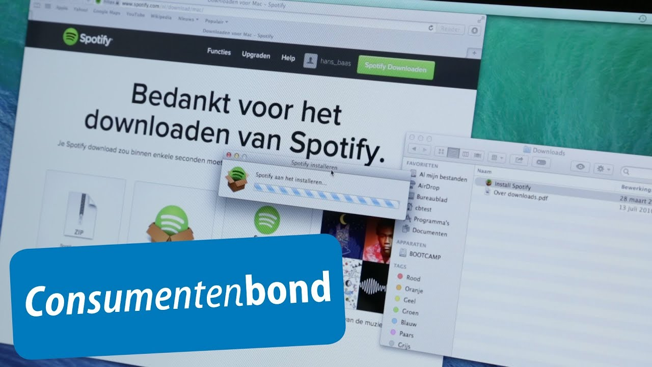 Spotify Deezer Spotify And Deezer Review Consumentenbond Youtube