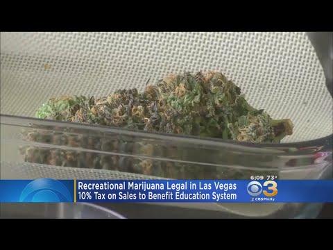 Recreational Marijuana Becomes Legal In Las Vegas