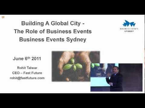 Building a global city through business events - Convention 2020 presented by Rohit Talwar (Part 1)
