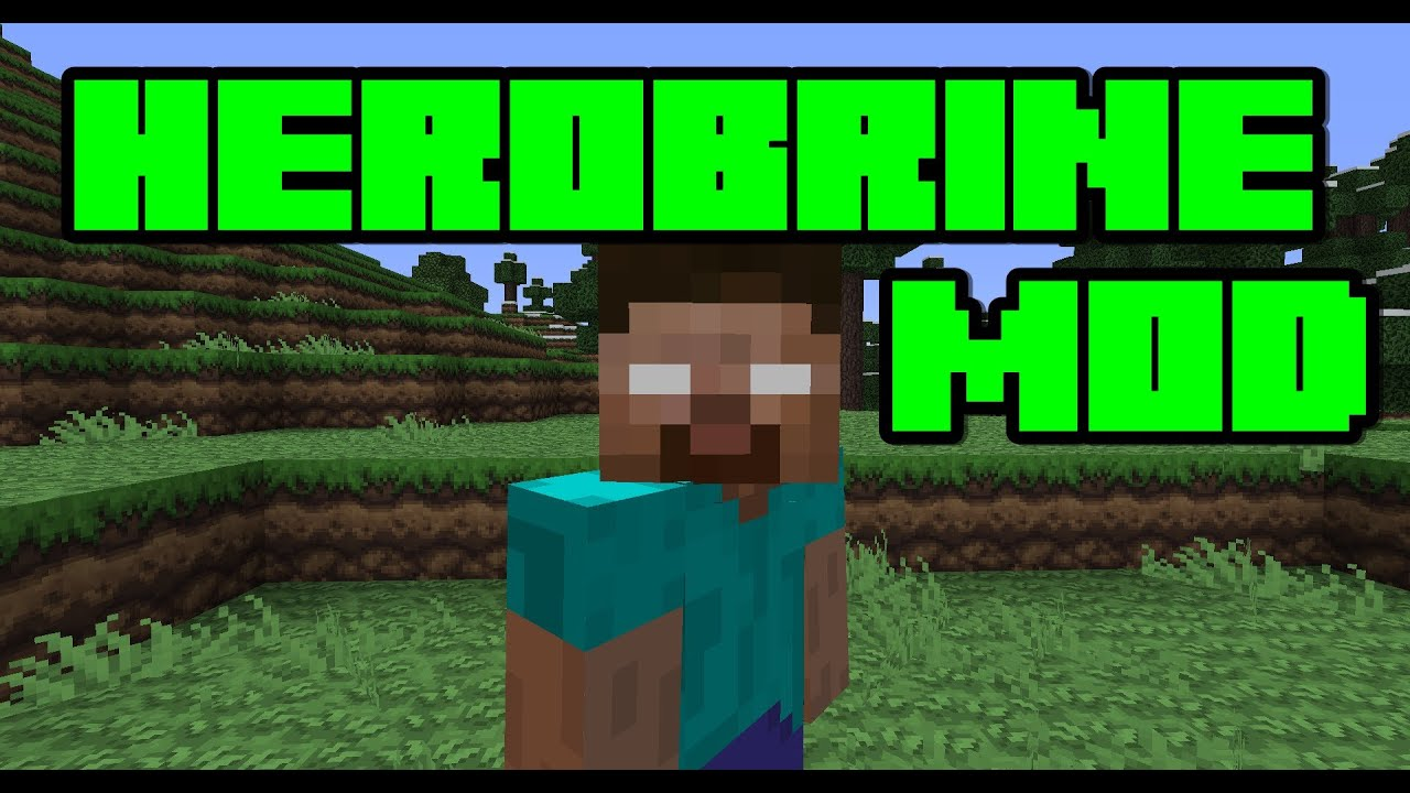 how to install the herobrine mod for minecraft 1 5 2 youtube